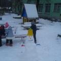 Как мы лепили снеговика, или Другие зимние забавы