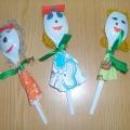 Куклы из ложек