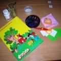 Мастер-класс: новогодняя открытка «В гостях у Деда Мороза и Снеговика» (аппликация с элементами рисования)