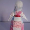 Мастер-класс по рукоделию «Народная тряпичная кукла— закрутка»