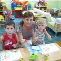 Дети любят рисовать!