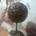 «Дерево счастья» или топиарий своими руками.
