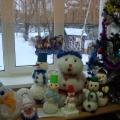 Сказочные снеговики в гостях у малышей.