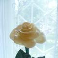 Роза из холодного фарфора. Рецепт ХФ.