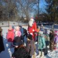 Фотоотчёт о проведении досуга «Зимняя Олимпиада» (на улице) подготовительная и старшая группа