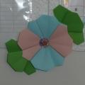 Цветы из модулей (оригами, мастер-класс)