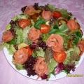 Салат с семгой «Вау!»