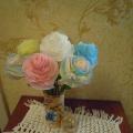Мое хобби «Цветы в туеске»