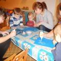 Совместное творчество детей и родителей по рисованию в нетрадиционной технике «Морозные узоры»