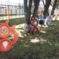 Мастер-класс. Сказка «Колобок», на участке детского сада.