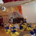 Украшение холла детского сада и музыкального зала