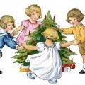 Новогодний утренник для малышей или средней группы