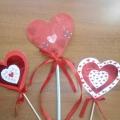 «Сердечко». Поделка к Дню Святого Валентина
