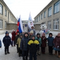 Круг почета в поддержку сборной России на Зимних Олимпийских Играх 2014 года в Сочи!