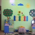 Оформление стен групп детского сада своими руками