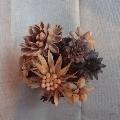 Флористика. Цветы в горшочке своими руками.