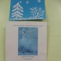 Детские рисунки на тему «Расселила зимушка-зима свои белоснежные узоры»
