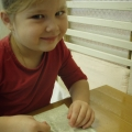 «Пластилиновые налепы»— индивидуальная работа с детьми старшей группы, на развитие мелкой моторики.