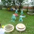 Дидактическая игра по экологии на участке ДОУ «Веселые лягушки»