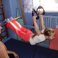 Упражнения на кольцах и трапеции