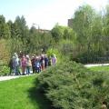 Наша экскурсия в ботанический сад.