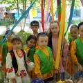 Фоторепортаж с татарского национального праздника «Сабантуй» (праздник плуга) в детском саду
