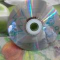 Новогодняя поделка с детьми старшего возраста на CD-диске с использованием пластилина