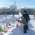 Зимняя спартакиада в детском саду «Аленушка» р. п. Дергачи