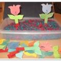 Дидактическая игра математического содержания «Посади цветок на клумбу» для детей старшего дошкольного возраста
