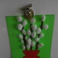 «Ветку вербы в вазочку поставлю…». Открытка-панно своими руками с детьми 4–5 лет