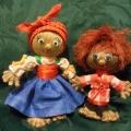 «Хозяюшка Ефросинья»— МК, кукла из пакли за вечер.