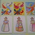 Декоративно-прикладное искусство в рисунках детей.