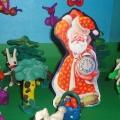 Пластилиновая сказка: «Как Дед Мороз попал в лето».