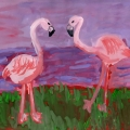 Детские рисунки «В мире животных»