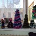 Работа с родителями: совместная выставка «Новогодняя ёлочка».