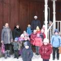 Экскурсия в Хвойнинский краеведческий музей на выставку кукол.