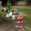 Развивающая среда на участке детского сада