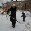 Снежная звезда в честь открытия Олимпиады (фотоотчет)