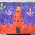 «Праздничный салют над Красной площадью в Москве»— поделка к 9 Мая