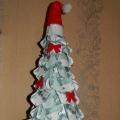 «Новогодняя елка». Поделка из бумаги
