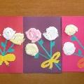Цветочки для мамочки.