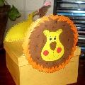 Царь зверей или чудесное превращение картонной коробки