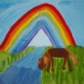 «Радужное настроение»— детские рисунки