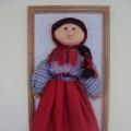 Текстильные куклы. Кубанский казак Петро и казачка Наталья