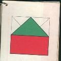 Превращения волшебного квадрата (схемы)