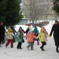 Празднование Масленицы в нашем детском саду