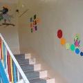 Лестница детского сада