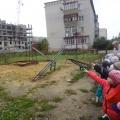 Экскурсия детей старшей группы на стройку многоэтажного дома