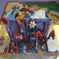 Коллективная работа «Пластилиновый аквариум». Конспект занятия по лепке в младшей группе