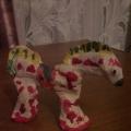 Декоративное рисование на объемной форме «Нарядная лошадка» (оформление вылепленных игрушек) во второй младшей группе